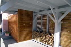 H w holzbau zimmerei bedachung terrassen berdachung for Carport bedachung